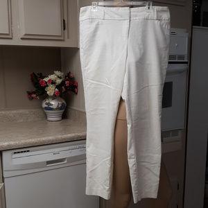 White Ivanka Trump Dress Slacks, Size 14